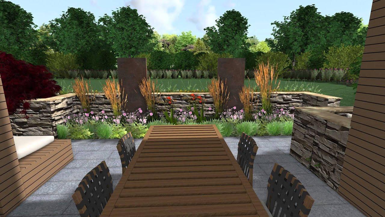 terrassen umgestaltung ein wohnzimmer im garten von. Black Bedroom Furniture Sets. Home Design Ideas