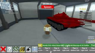 Roblox Tankery: Leopard 1 and STB 1!!