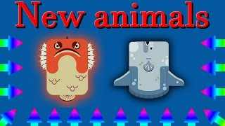 Deeeep.io new animals || Sunfish & Stonefish || New update