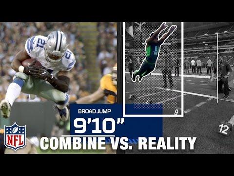 Combine vs. Reality: Ezekiel Elliott, J.J. Watt, Marshawn Lynch, & Patrick Peterson | NFL