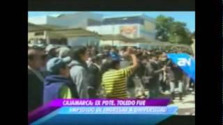 Alejandro Toledo EXPULSADO DE LA UNIVERSIDAD NACIONAL DE CAJAMARCA.wmv