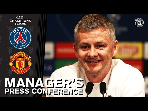Manager's Press Conference | PSG v Manchester United | UEFA Champions League
