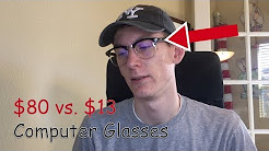 Difference Between $80 and $13 Computer Glasses