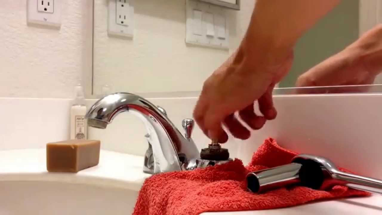 Kohler leaking handle cartridge repair - YouTube