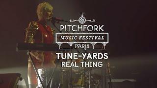 "tUnE-yArDs | ""Real Thing"" | Pitchfork Music Festival Paris 2014 | PitchforkTV"