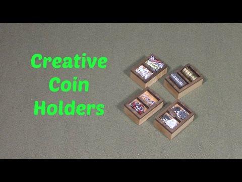 Creative Coin Holders
