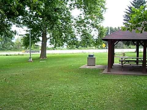 Chief Logan's family murder site 1774-Yellow Creek,Ohio Lord Dunmore's War 1774