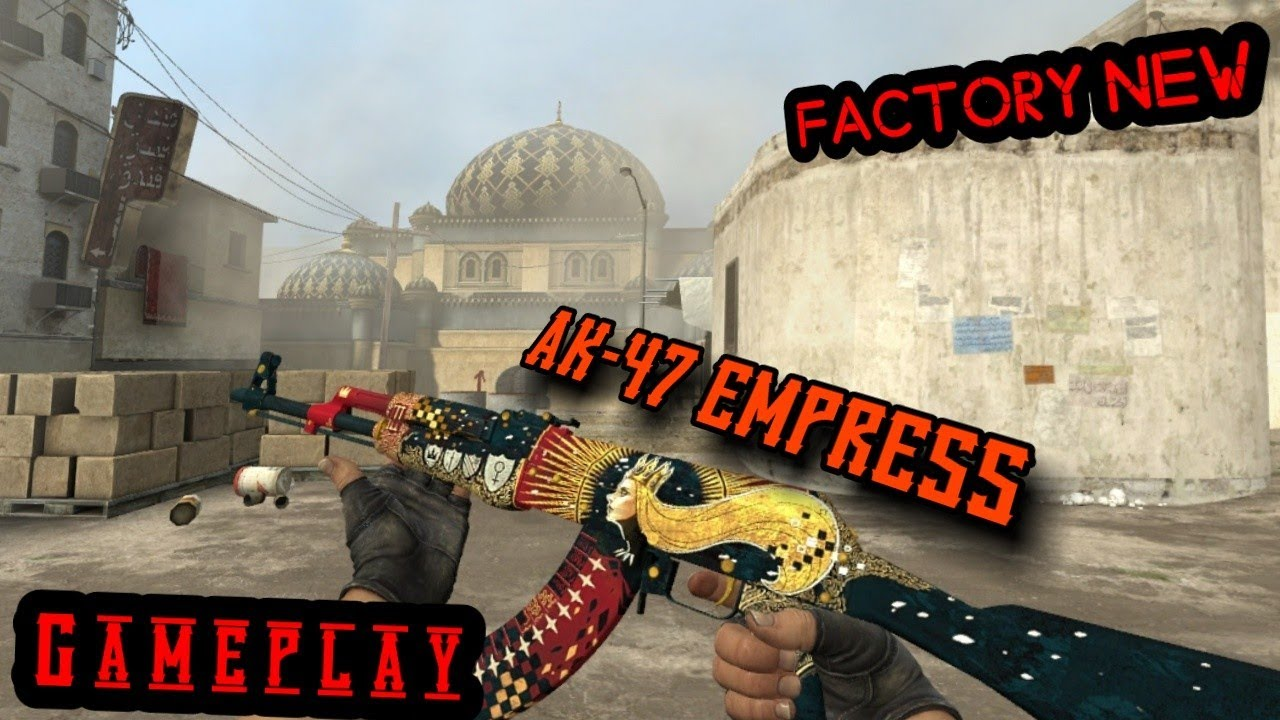 Csgo Ak 47 The Empress Factory New Gameplay Youtube