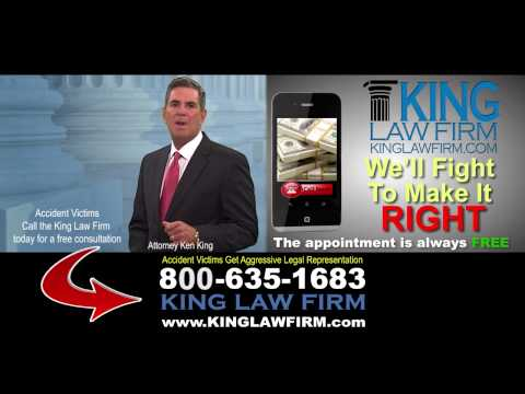 North Carolina Auto Accident Lawyer - King Law Firm