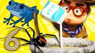 Око Леле - серия 6 - смешные мультики - человек паук и человек лягушка KEDOO МУЛЬТФИЛЬМЫ для детей