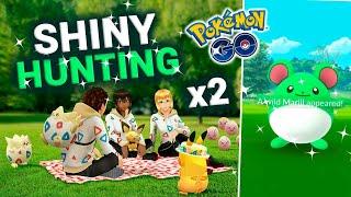 ¡¡DIRECTO HASTA QUE SALGA SHINY!! - Pokémon Go [Neludia]