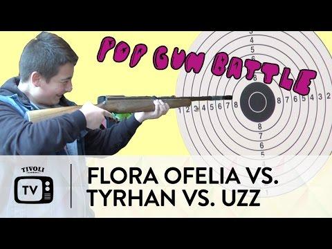 POP-GUN BATTLE: Flora