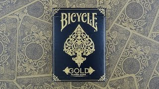 Bicycle Gold Playing Cards | Deck Review -Display