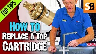 How to Replace a Ceramic Cartridge - Dripping Tap Fix
