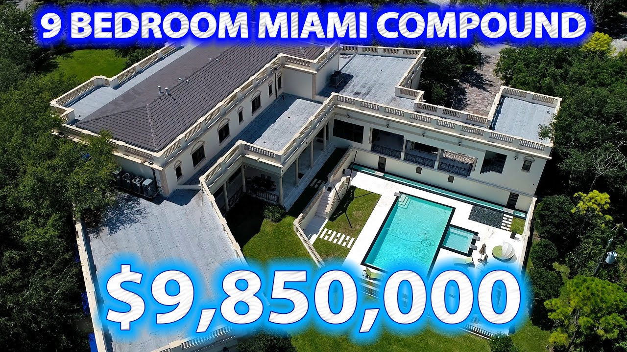 $10 MILLION DOLLAR Miami COMPOUND - 5801 Moss Ranch | PROPERTY TOUR!