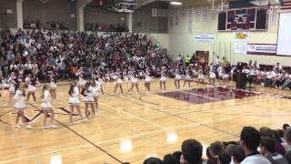 Mercer Island High School Assembly 2013 Drill Cheer