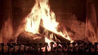 Огонь в камине. Анимированная заставка на рабочий стол