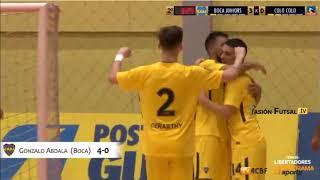 Pasión Futsal TV: Boca 7-Colo Colo (Chile) 1 (Copa Libertadores-Grupo A-Fecha 3) FUTSAL FIFA