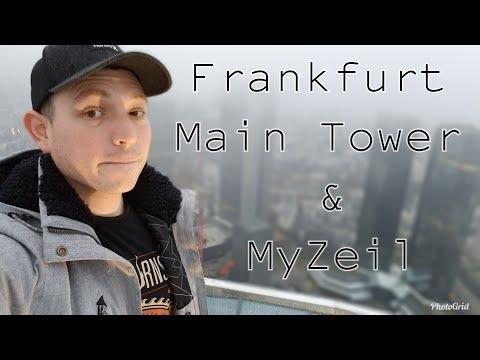 Frankfurt - Main Tower & MyZeil Mall