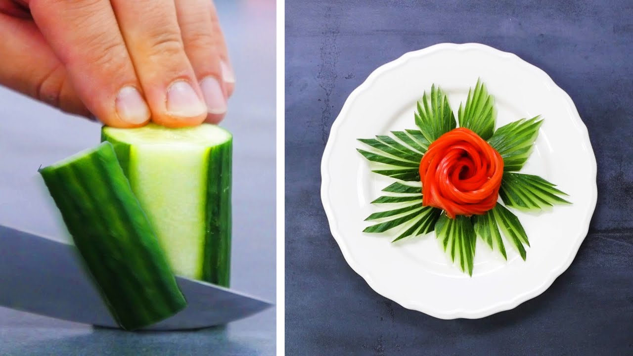 Consume VITAMINS In STYLE with 23 Fruit and Veggie Life Hacks by Crafty Panda
