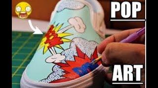 Download POP Art Vans Custom! (Full Timelapse Tutorial) Mp3 and Videos