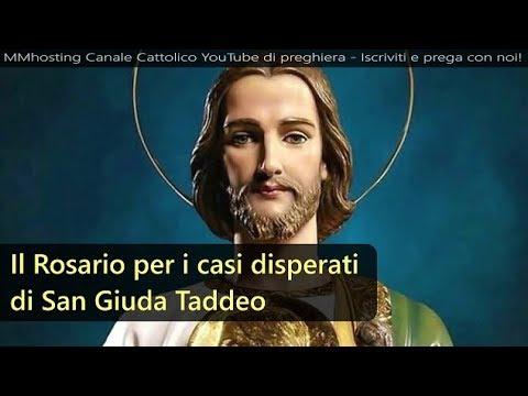 Rosario a San Giuda Taddeo per i casi disperati