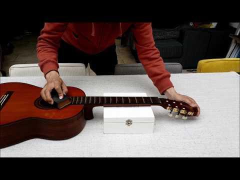 Classical Guitar Yamaha G245S setup (nut and saddle hight adjustment and fretboard maintenance)