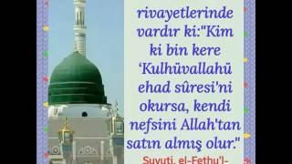 Arefe günü 1000 ihlas okumak