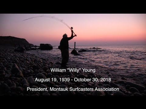 """William """"Willy"""" Young , past president of MSA and surf fishing legend"""