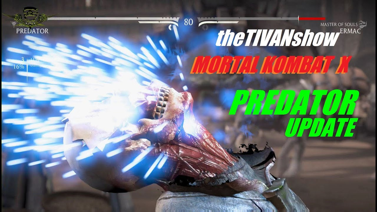 MORTAL KOMBAT X - PREDATOR UPDATE - PS4 - TOWER FIGHTS - LIVE