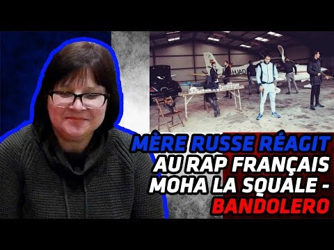 RUSSIAN MOM REACTS TO FRENCH RAP | Moha La Squale - Bandolero | REACTION