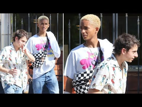 Jaden Smith And Hannah Montana's Moises Arias BroOut In Calabasas