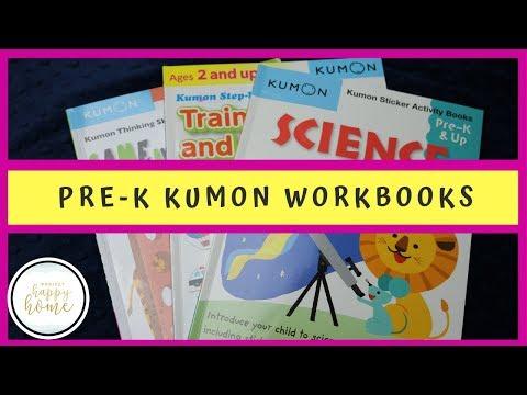 Kumon Workbooks    PreK Curriculum Review    Kumon Pre-K Science And Kumon Trains, Planes, & More