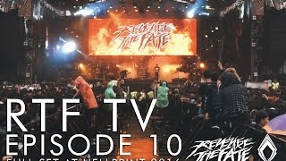 RTF TV - EPISODE 10 - REVENGE THE FATE - FULL SET AT HELLPRINT 2016 (Official HD Live Video)