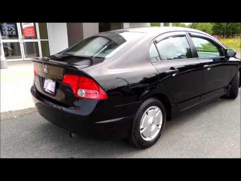 16019A Honda Civic DX G 4Dr Aut Black Bathurst Honda As Traded 2008 JPG