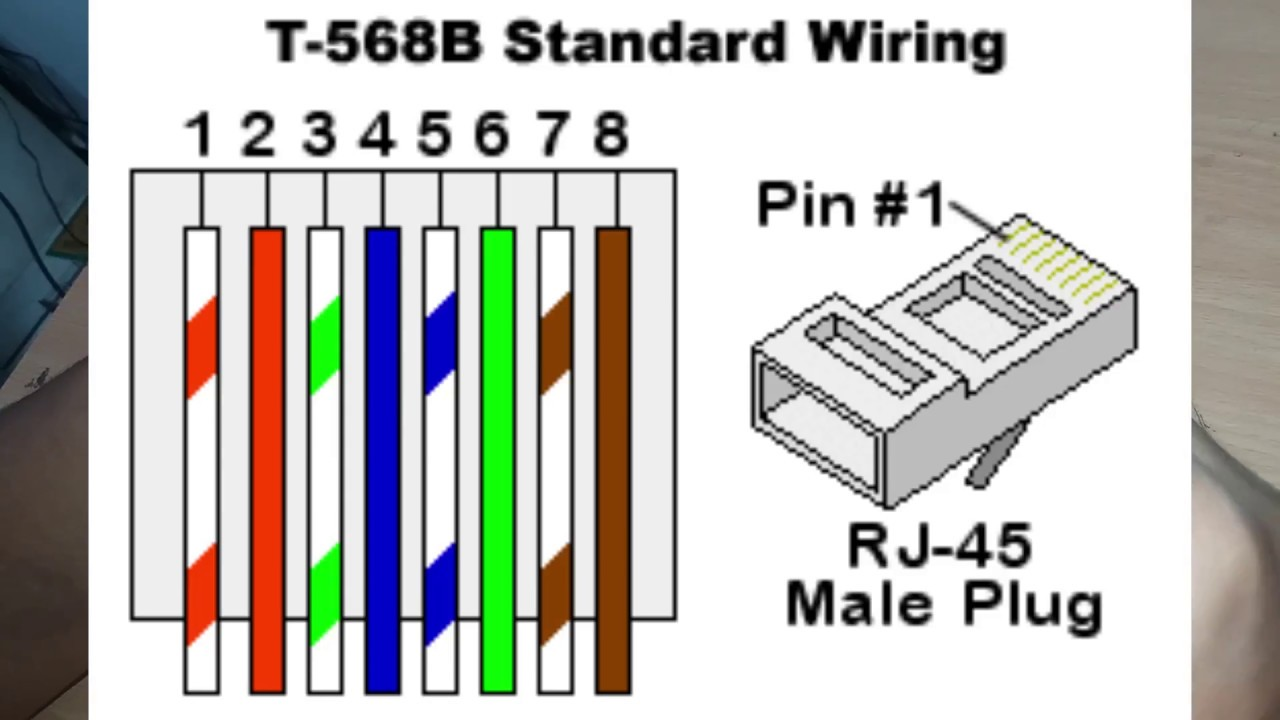 Standard Ethernet Cable Wiring Diagram