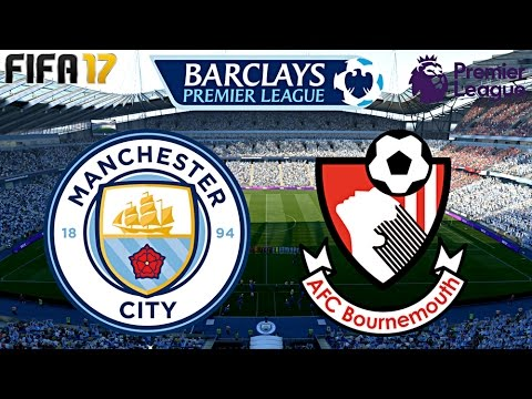 FIFA 17 - MANCHESTER CITY vs. AFC BOURNEMOUTH | MATCHDAY 5 ◄MCI #14►