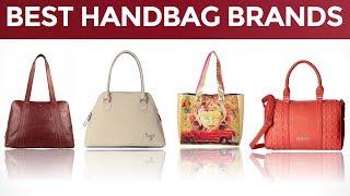 10 Best Handbag Brands in India with Price Range | Ten Best Selling Handbags Brands in India | 2017
