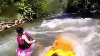 GoPro Kayak and Whitewater Rafting Trip - Nantahala, NC and Ocoee, TN