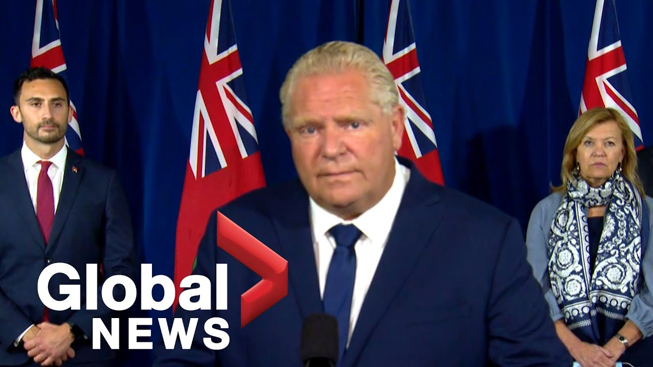 Coronavirus Ford Says Second Covid 19 Wave Is Coming As Cases Climb In Ontario Full Youtube