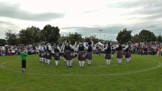 Ards 2014 - Ravara Pipe Band - MSR