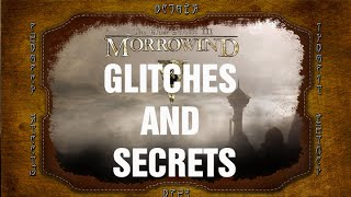 Glitches and Secrets: Morrowind (Max Stats at Level 1)