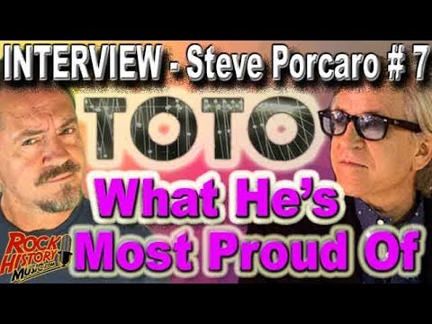What Toto's Steve Porcaro Is Most Proud Of - INTERVIEW #7