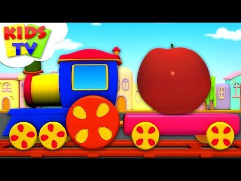 Fruits Train   Learning Videos   Bob The Train Cartoons - Kids TV