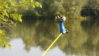 ДУМАЛ САЗАН СКРУТИЛ УДОЧКУ ЖОР на РЕКЕ Сибири Рыбалка весной 2021
