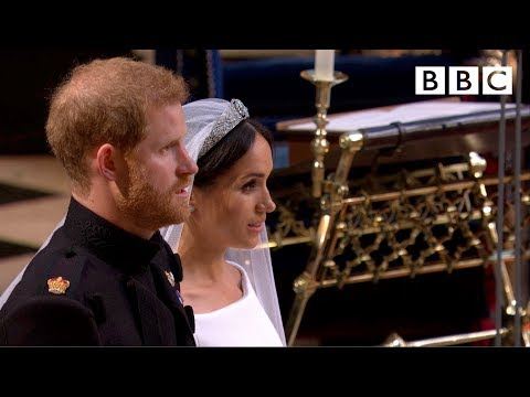 Prince Harry and Meghan Markle's marriage ceremony - The Royal Wedding - BBC