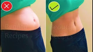 Get Rid of Bloated Stomach Overnight - Lose Belly Fat in 1 Week - Get Flat Stomach
