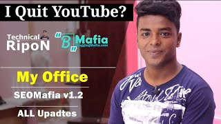 Updates:  Why I'm Not Uploading Videos | My Office | SEOMafia Course