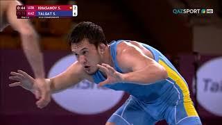 Еркін күрес. Азия чемпионаты. 70 кг. Талғат Сырбаз - жеңімпаз