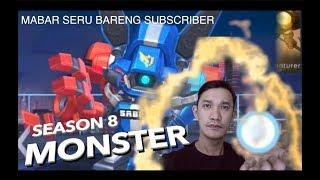 cyclops gila banget di season 8 - mabar sama subscriber - mobile legends indonesia